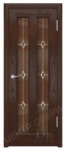 Тесей Лира - дверь межкомнатная из натурального шпона ТМ DioDoor (ДИОдор) купить в Саратове по цене производителя