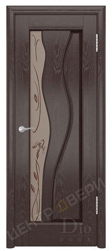 Энжел Лилия - дверь межкомнатная из натурального шпона ТМ DioDoor (ДИОдор) купить в Саратове по цене производителя