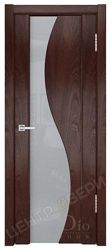 Фрея-2 триплекс белое - дверь межкомнатная из натурального шпона ТМ DioDoor (ДИОдор) купить в Саратове по цене производителя