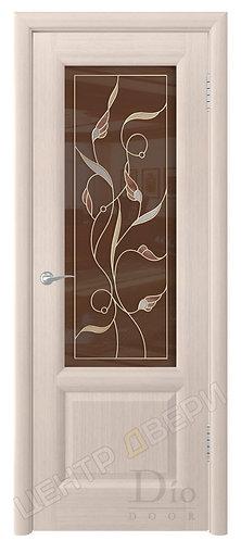 Онтарио Мемфис - дверь межкомнатная из натурального шпона ТМ DioDoor (ДИОдор) купить в Саратове по цене производителя