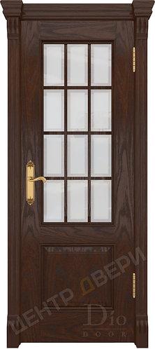 Криста-1 Рамка белое - дверь межкомнатная из натурального шпона ТМ DioDoor (ДИОдор) купить в Саратове по цене производителя