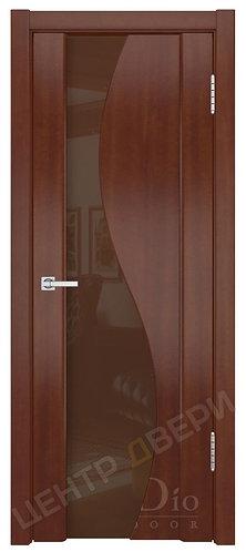 Фрея-2 триплекс бронза - дверь межкомнатная из натурального шпона ТМ DioDoor (ДИОдор) купить в Саратове по цене производителя