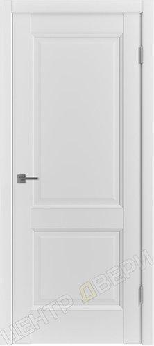 E-2 царговая дверь межкомнатная с покрытием экошпон, серия Emalex, купить по цене производителя в Саратове