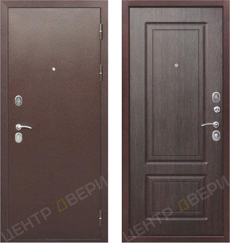 Роял-2 венге - дверь входная металлическая, купить по цене производителя, Центр Двери