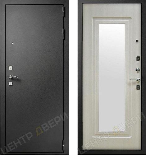 Царское Зеркало Муар - Белый Ясень, двери входные, двери входные Саратов, двери входные металлические, входные двери Саратов
