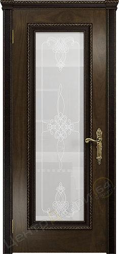 Версаль-5 Декор Валенсия - дверь межкомнатная из натурального шпона ТМ DioDoor (ДИОдор) купить в Саратове