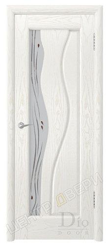 Энжел Капля - дверь межкомнатная из натурального шпона ТМ DioDoor (ДИОдор) купить в Саратове по цене производителя