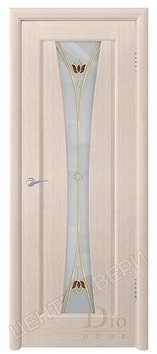 Соната-1 Тюльпан белое - дверь межкомнатная из натурального шпона ТМ DioDoor (ДИОдор) купить в Саратове по цене производителя