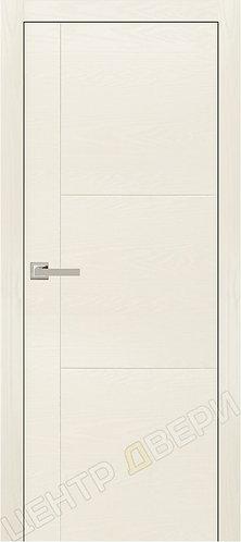 Лестер-1 ясень белый - дверь межкомнатная с антивандальным покрытием экошпон от производителя Верда (Verda) купить в Саратове