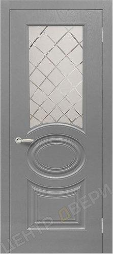 Роял-1 сатин светлый - дверь межкомнатная с антивандальным покрытием ренолит от производителя Верда (Verda) купить в Саратове