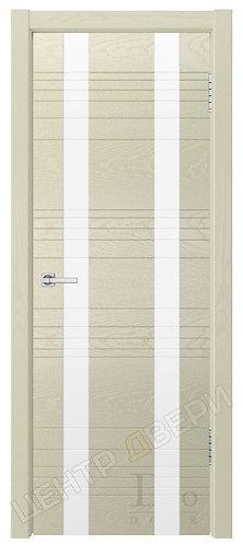 Лайн-2 лакобель белое - дверь межкомнатная из натурального шпона ТМ DioDoor (ДИОдор) купить в Саратове по цене производителя