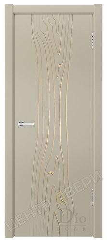 Гринвуд-5 патина золото - дверь межкомнатная с покрытием эмаль ТМ DioDoor (ДИОдор) купить в Саратове по цене производителя