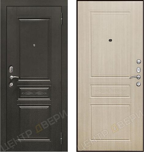 SD Prof-10 Троя - Дуб светлый, двери входные Саратов, двери входные металлические, входные двери Саратов, металлические двери
