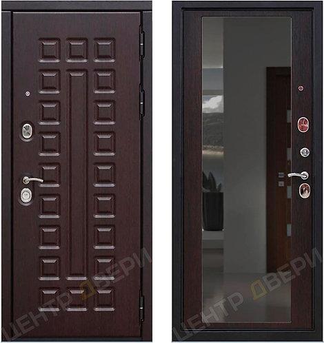 SD Prof-5 Сенатор Зеркало Венге, дверь входная металлическая купить в Саратове