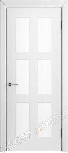 Челси 08 стекло сатинато, дверь межкомнатная с покрытием эмаль, серия Verda эмаль, купить по цене производителя в Саратове