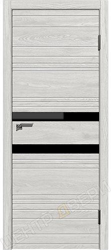 Новелла-2 лиственница серая, межкомнатная дверь, экошпон, Центр Двери, купить двери в Саратове