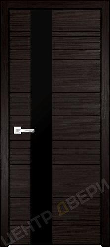 Новелла лакобель черное - дверь межкомнатная с покрытием ПВХ от производителя Верда (Verda) купить в Саратове