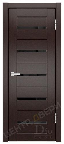 Техно-1 лакобель черное- дверь межкомнатная из натурального шпона ТМ DioDoor (ДИОдор) купить в Саратове по цене производителя