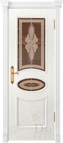 Санремо Стелла - дверь межкомнатная из натурального шпона ТМ DioDoor (ДИОдор) купить в Саратове по цене производителя