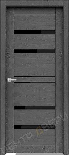 Велюкс 01 черное, двери экошпон, двери экошпон цена, двери экошпон купить, двери экошпон каталог, экошпон двери купить