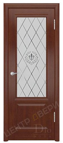 Онтарио Геральдика - дверь межкомнатная из натурального шпона ТМ DioDoor (ДИОдор) купить в Саратове по цене производителя