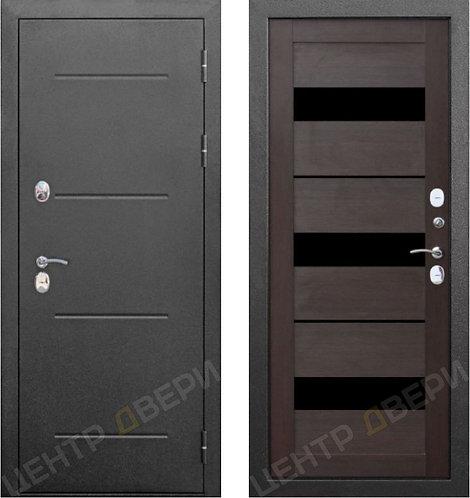 Изотерм-С темный кипарис - дверь входная металлическая, купить по цене производителя, Центр Двери
