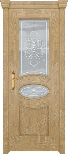 Санремо Венеция - дверь межкомнатная из натурального шпона ТМ DioDoor (ДИОдор) купить в Саратове по цене производителя