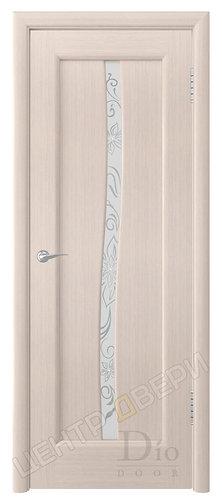 Миланика-3 мателюкс - дверь межкомнатная из натурального шпона ТМ DioDoor (ДИОдор) купить в Саратове по цене производителя