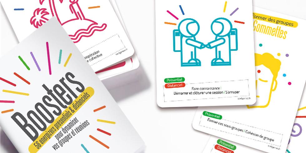 Café coach en ligne : ATELIER ENERGISANT ET TRES PARTICIPATIF  « BOOSTERS »