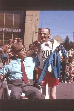 Bill Endrizzi & Mayor Santini