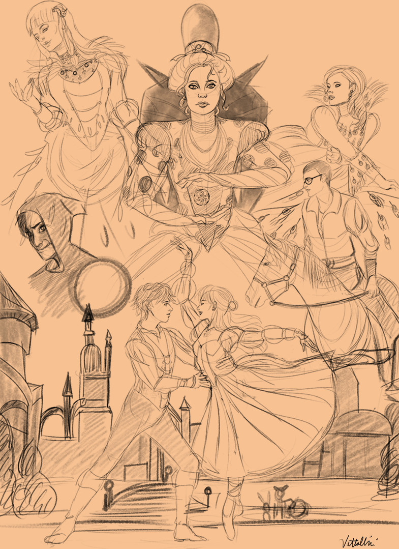 miraculious swanlake sketch