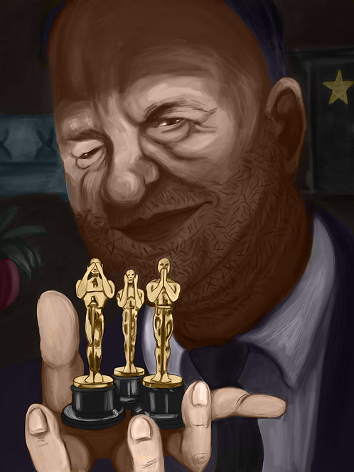 Harvey Weinstein CanvasPainting