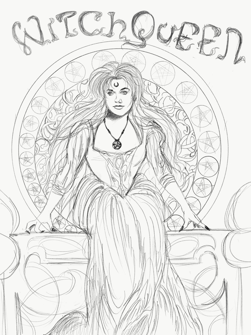 Witchqueen Poster concept 1