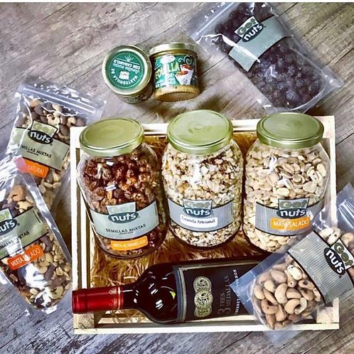 Caja Madera Get Nuts - Regalo ideal día del Padre