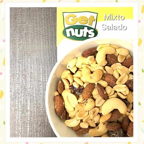 Semillas Mixtas Con Sal Get Nuts Bolsa 500 Gramos