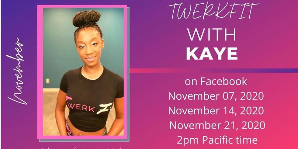 West Coast TwerkFit with Kaye