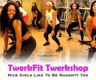 TwerkFit Class A dance fitness class designed to help tone our lower body and build bigger glutes  #TwerkFit
