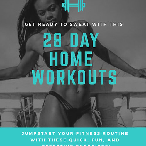 28 DAY HOME WORKOUTS