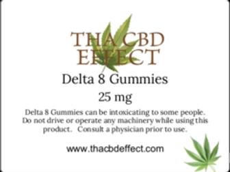 Delta 8 Gumies - 25 mg