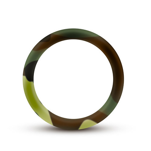 ERFORMANCE SILICONE CAMO COCK RING GREEN CAMOFLAUGE