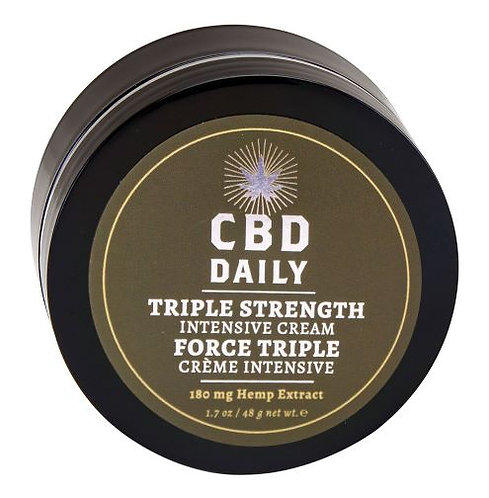 CBD DAILY INTENSIVE CREAM TRIPLE STRENGTH 1.7OZ
