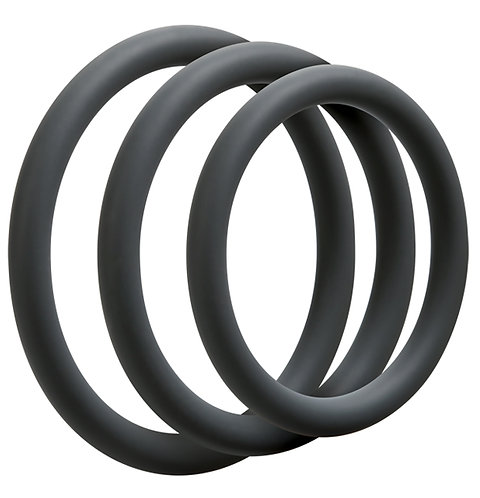 OPTIMALE 3PC C-RING SET THIN SLATE