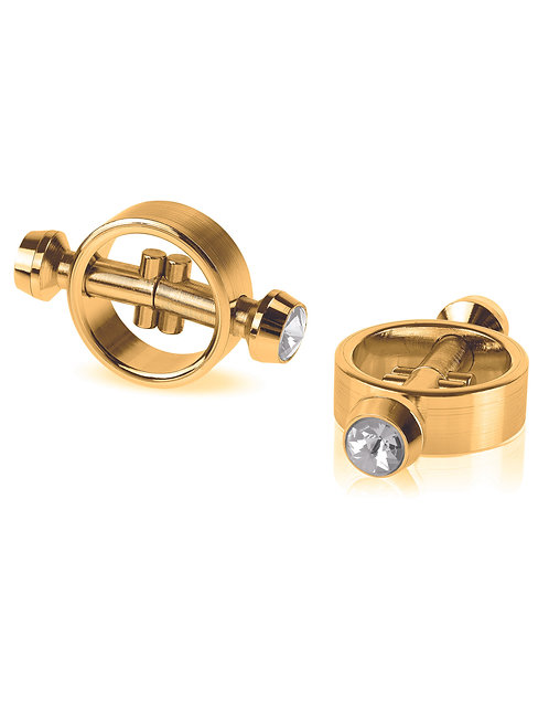 FETISH FANTASY GOLD MAGNETIC CLAMPS