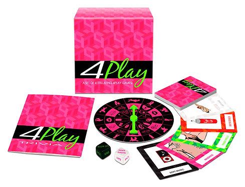 4 PLAY GAME SET