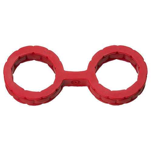 SILICONE CUFFS SMALL RED