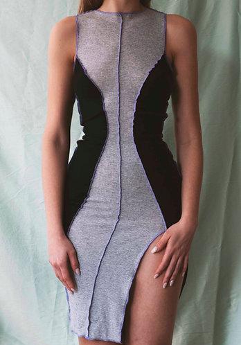 vestido block