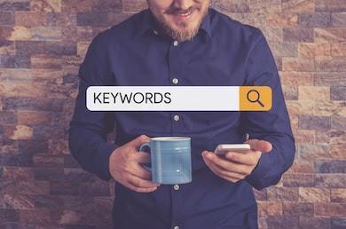 Find right keyword