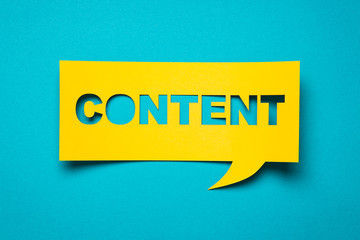 Create content to share
