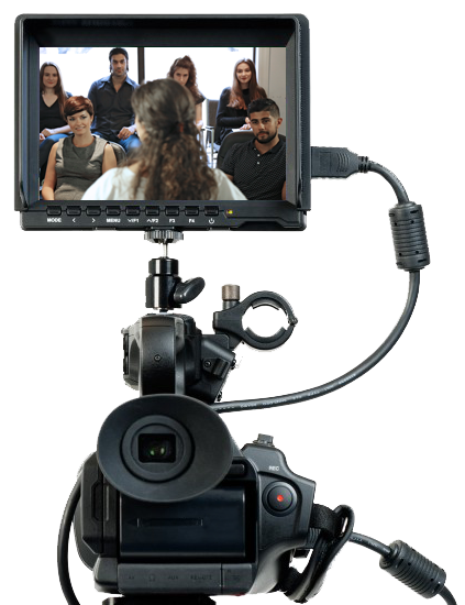 Video Camera Acting Class Students