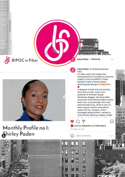 BIPOC in fiber Monthly Profile